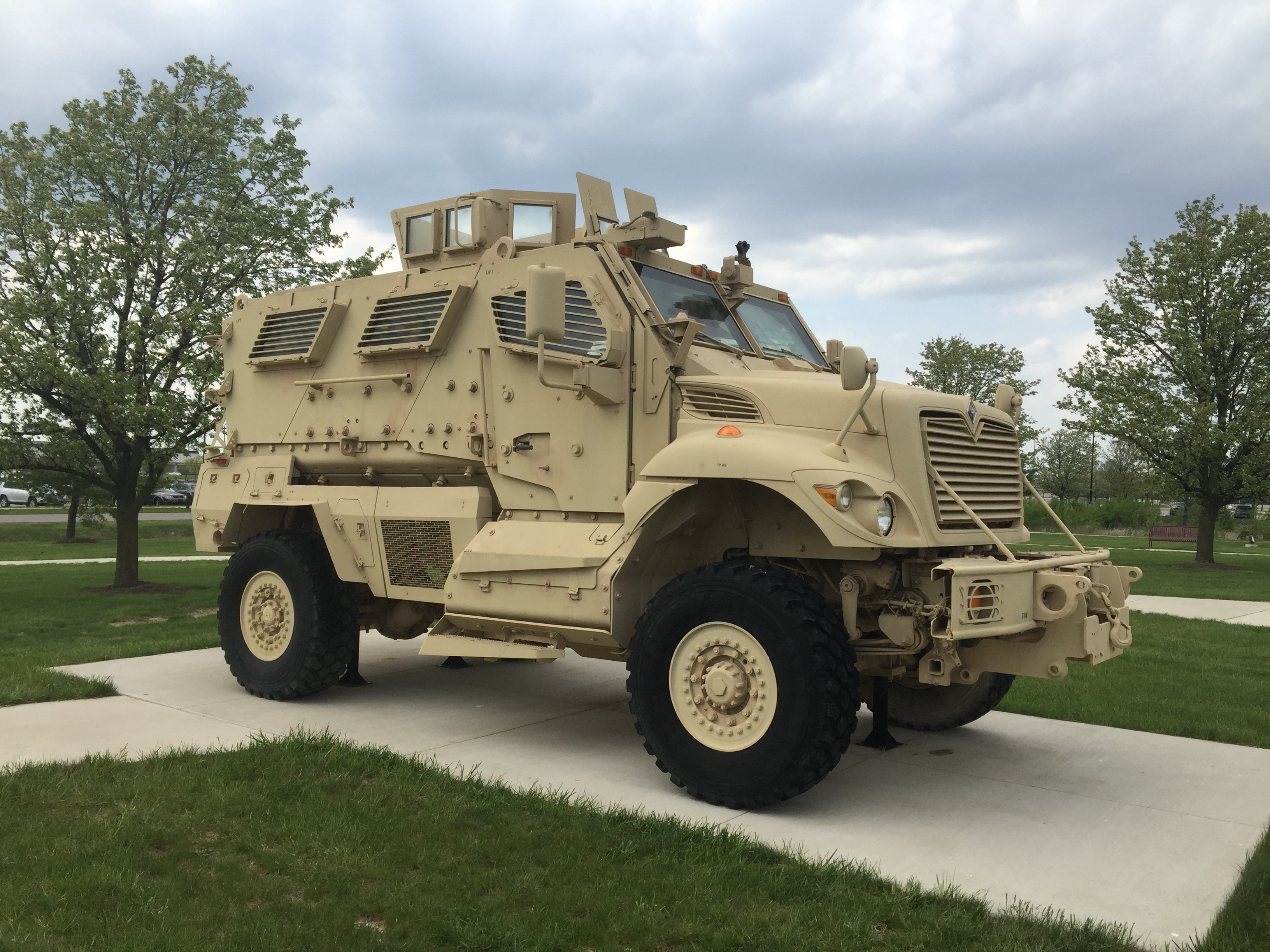 MAXXPRO Dash Mine Resistant Ambush Protected Vehicle