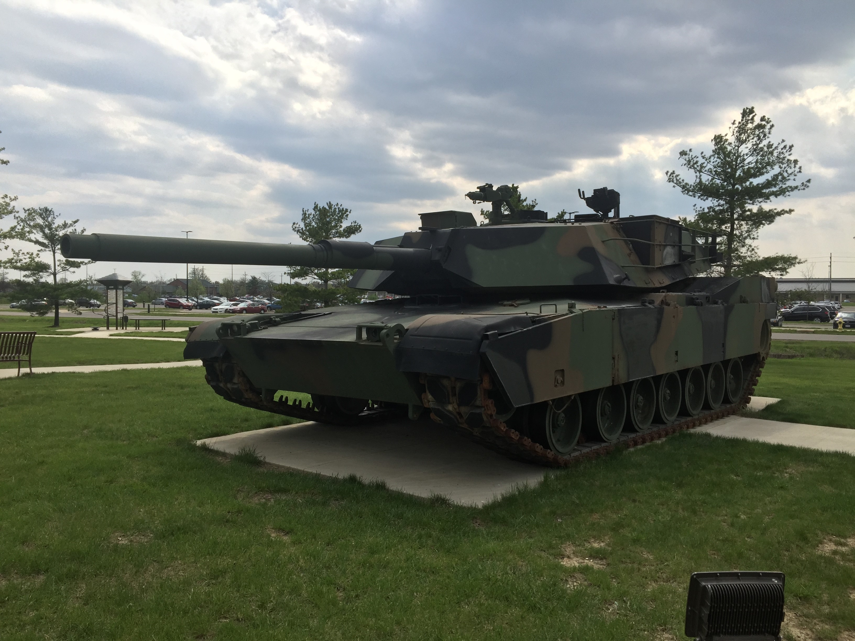 M1A1 Abrams Battle Tank