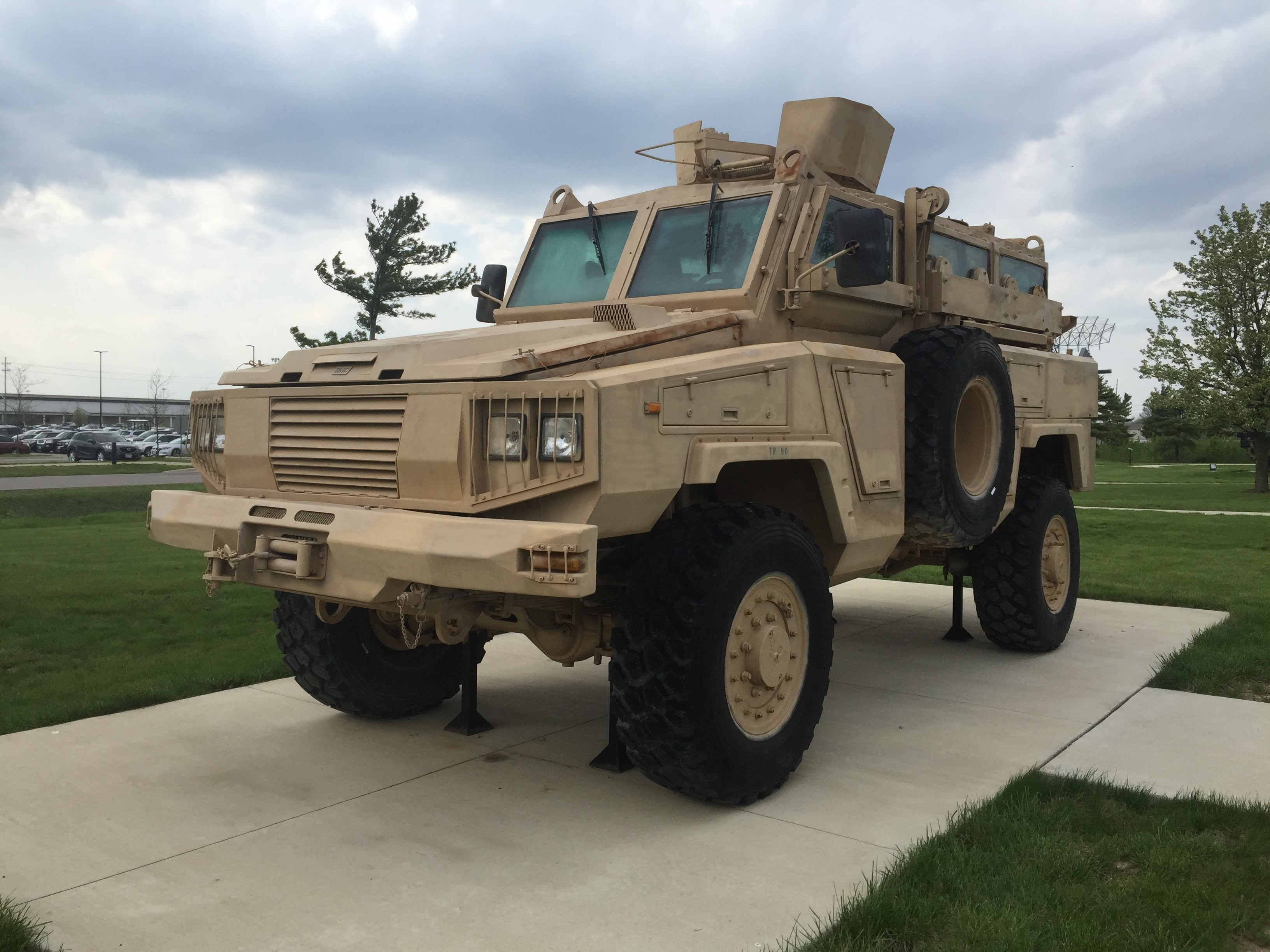 Mine Resistant Ambush Protected (MRAP) All-Terrain Vehicle (M-ATV)