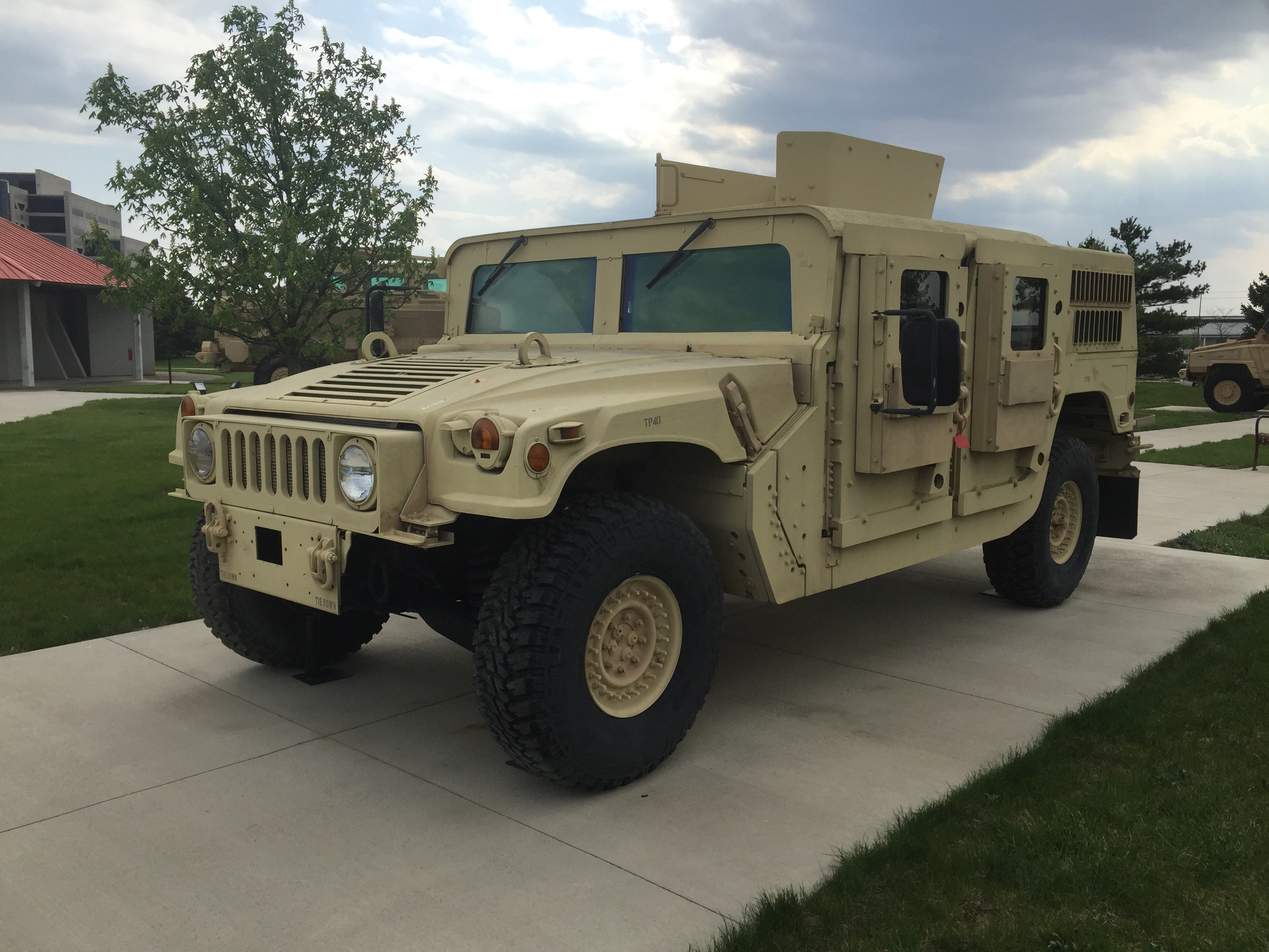 M1116 HMMWV Up-Armored Armament Carrier