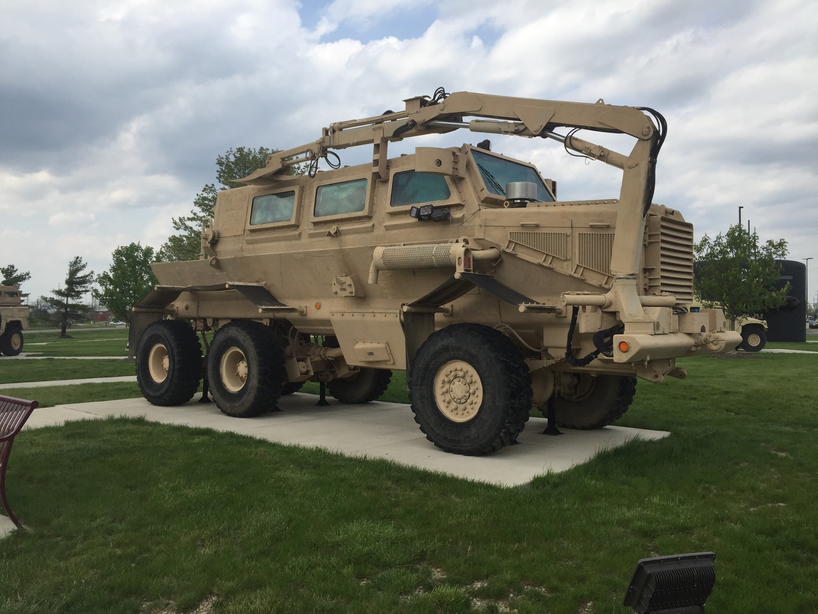 Buffalo - Mine Resistant Ambush Protected Vehicle